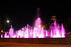 Светомузыкальный фонтан в Евпатории