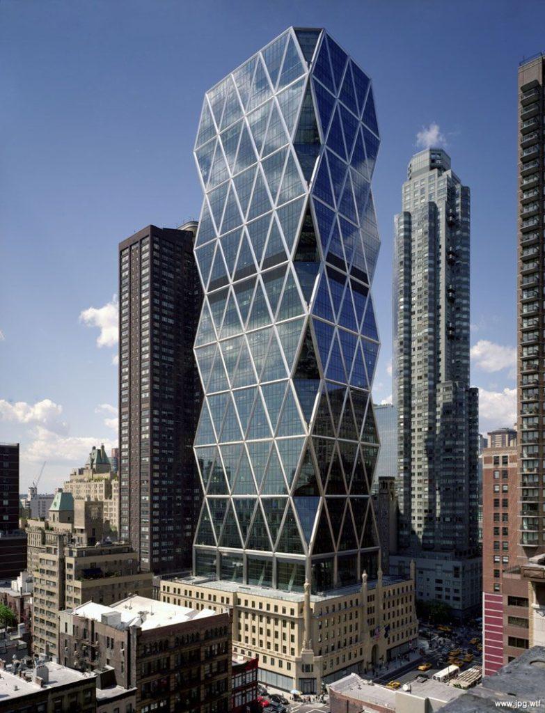 небоскребHearst Towerв Нью-Йорке