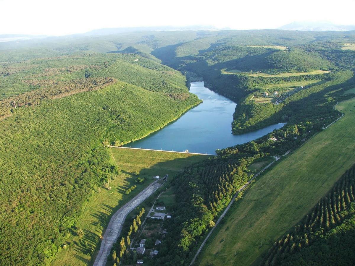 Балановское водохранилище Крым