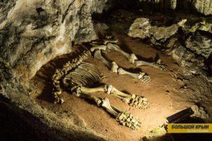 Мамонт в пещере Эмине-Баир-Хосар