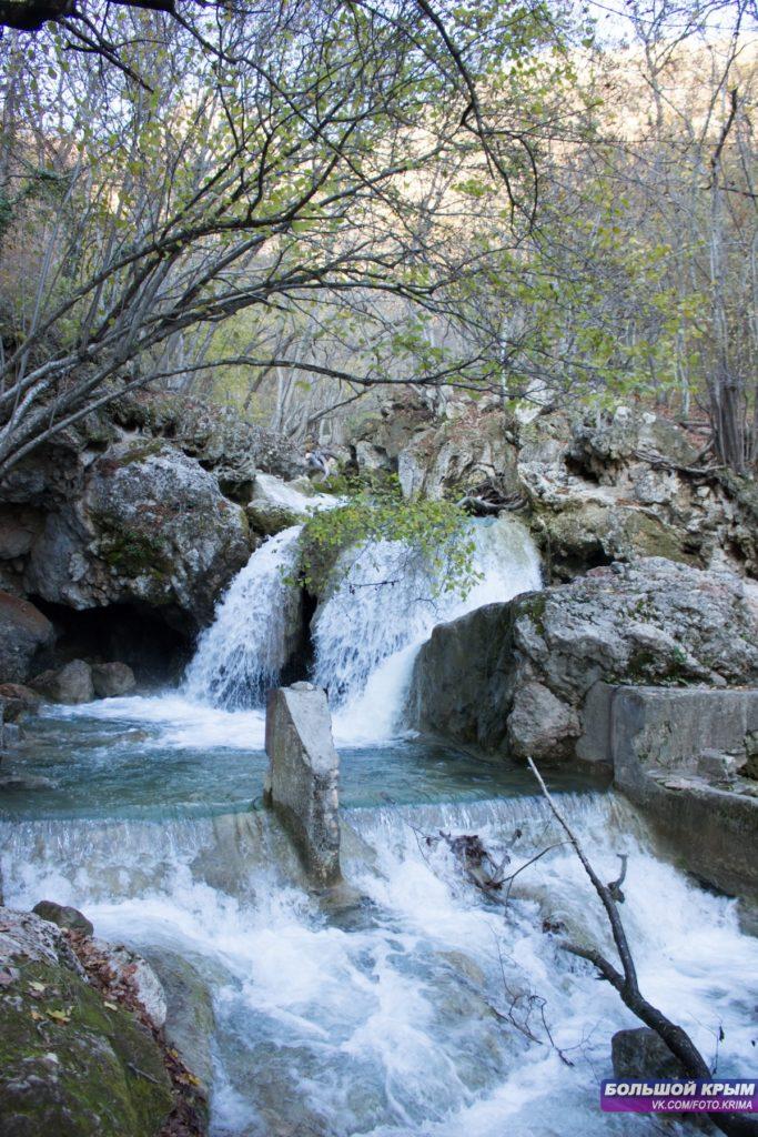 Фото крымский водопад Су-Учхан
