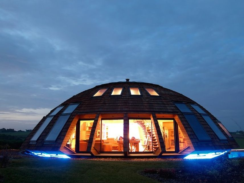 Купольные дом в Крыму