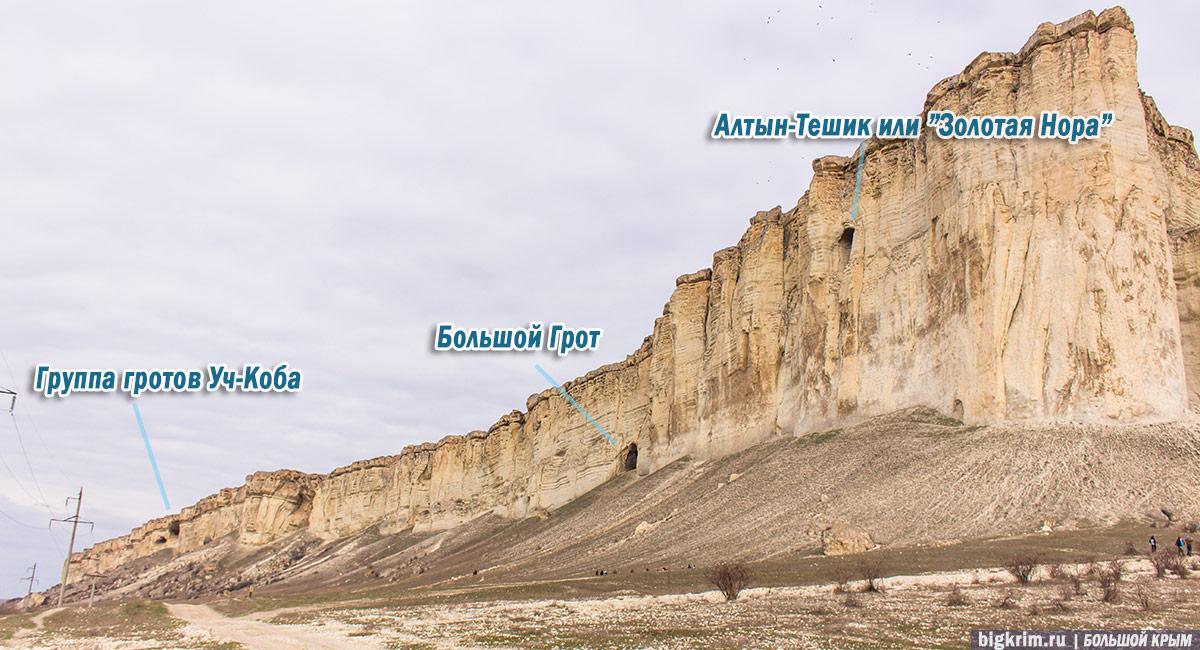 Гроты и пещеры Ак-Кая